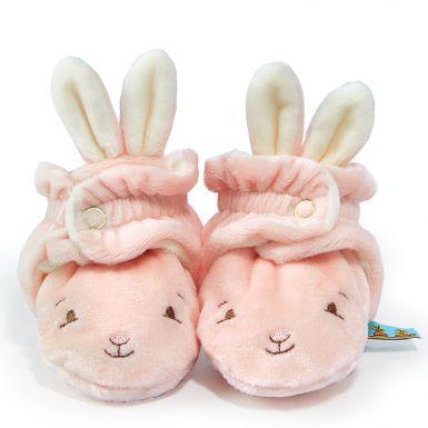Hoppy Feet Bloom Pink Slippers