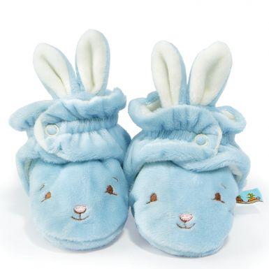 Hoppy Feet Bloom Blue Slippers