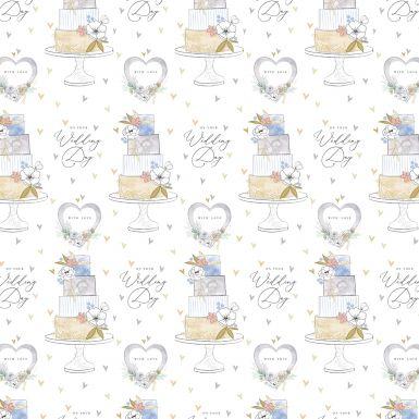 Gift Wrap Katie Phythian Wedding Cake