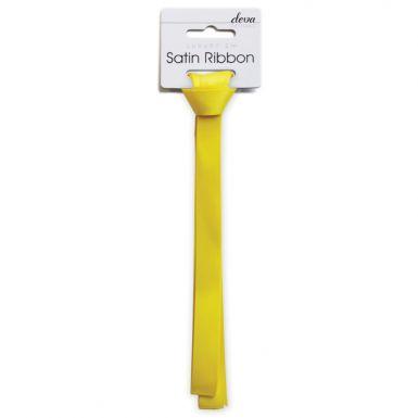 Satin Ribbon (Essential) - Yellow