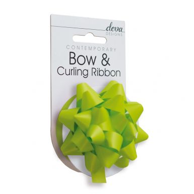 Bow & Curling (Essential) - Lime Green