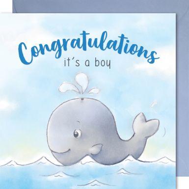 It's a boy - whale