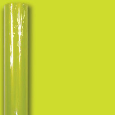 3M x 70CM (Essential) Roll Wrap Lime Green