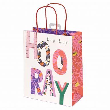 Gift Bag Medium Stop the Clock Hooray