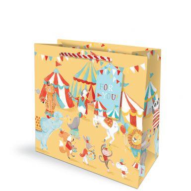 Gift Bag Medium Carnival Circus