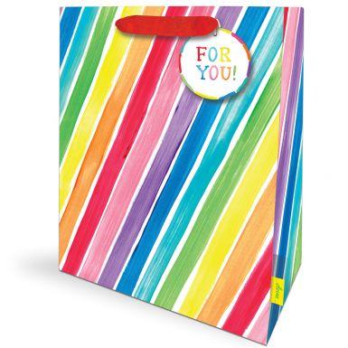 Gift Bag Large Rainbow Rock