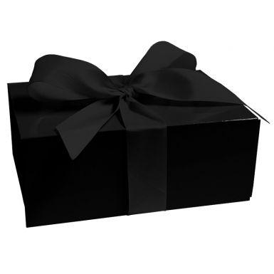 Jet Black Medium Folding Box