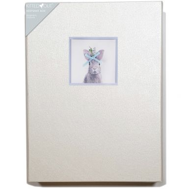 Animal Portraits Bunny (Large) Keepsake Box