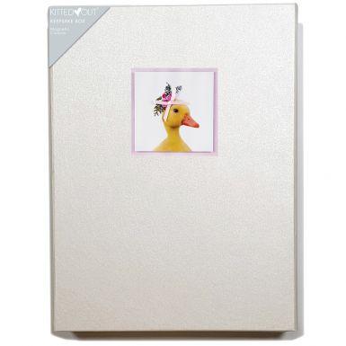 Animal Portraits Duck (Large) Keepsake Box