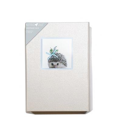 Animal Portraits Hedgehog (Medium) Keepsake Box