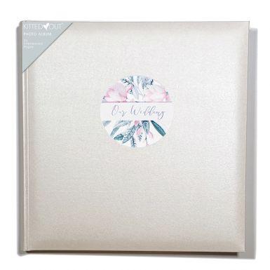 Wedding Floral (Large) Photo Album