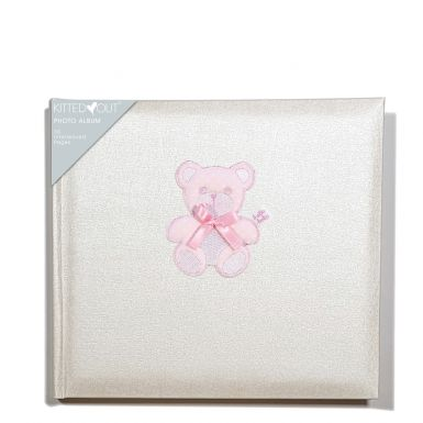Teddy Pink (Medium) Photo Album