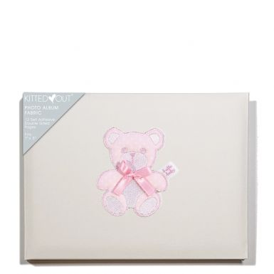 Teddy Pink (Fabric Covered) Album