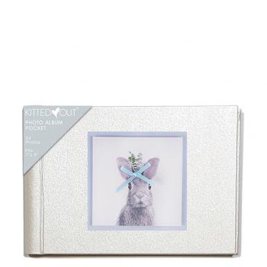 Animal Portraits Bunny (XL Pocket) Photo Album
