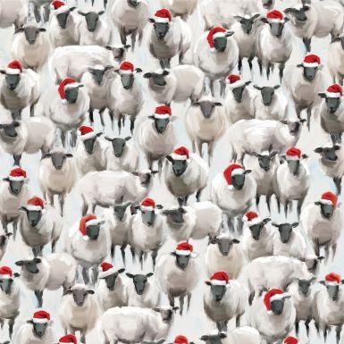 Gift Wrap Animal Crackers Sheep