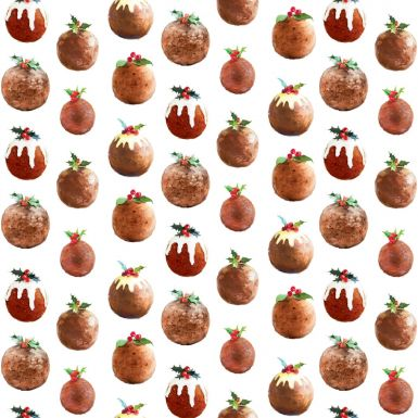 Gift Wrap Painterly Puddings
