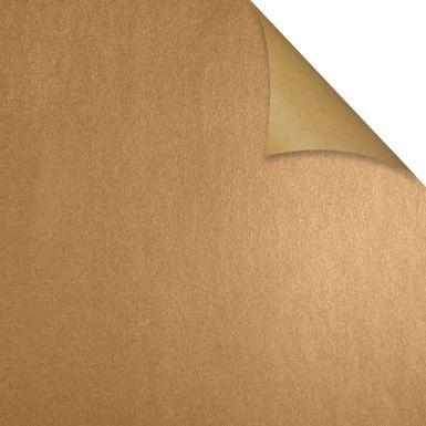 Gift Wrap Kraft Gold