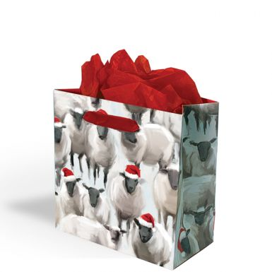 Gift Bag Small Wolly Warmers Sheep