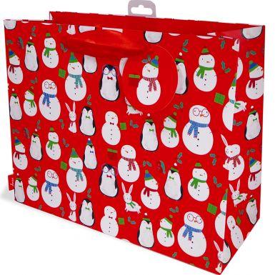 Gift Bag Carrier Penguins