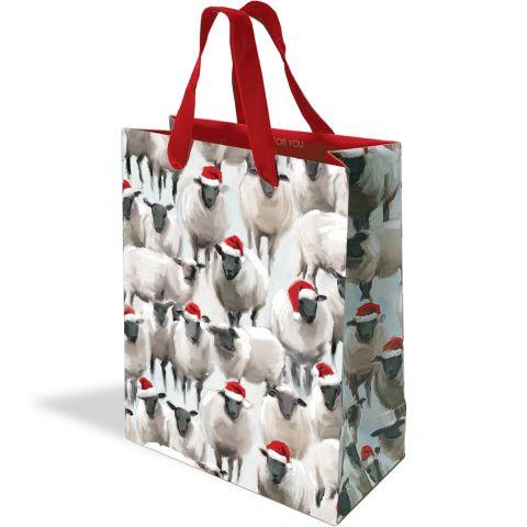 Gift Bag Medium Medium Wolly Warmers Sheep
