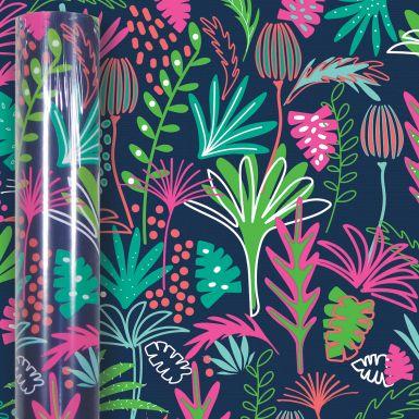 3M x 70CM Roll Wrap Neon Tropical