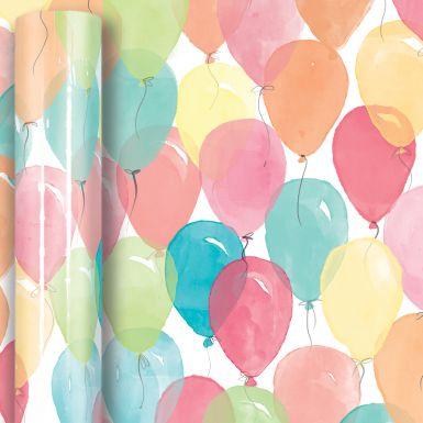 4M x 50CM (Handy) Roll Wrap Balloons