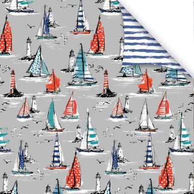 Gift Wrap Sketchbook Boats