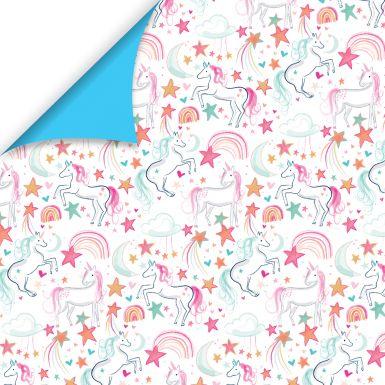 Gift Wrap Katie Phythian Unicorn