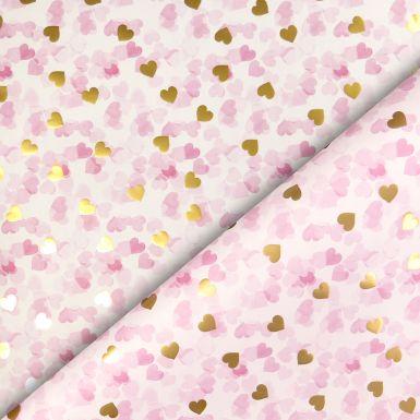 Gift Wrap Confetti Heart Foil
