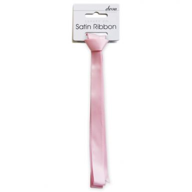 Satin Ribbon (Essential) - Soft Pink