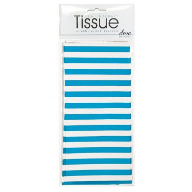 Tissue Stripe Teal