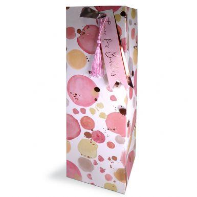 Gift Bag Bottle Time for Bubbles