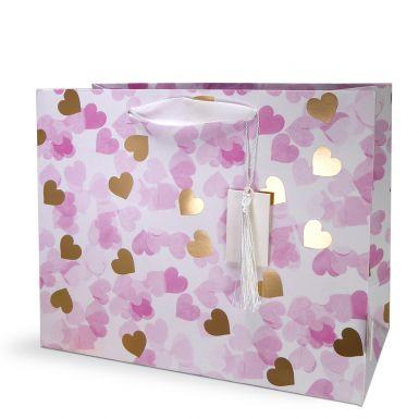 Gift Bag Medium Confetti Heart