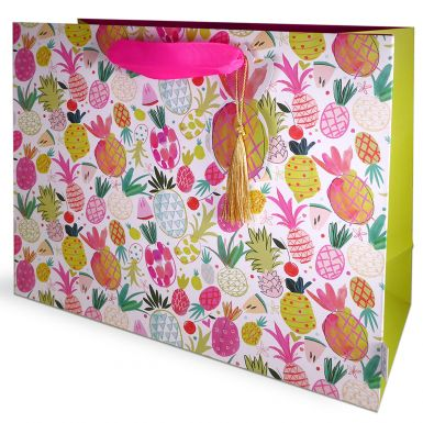 Gift Bag Carrier Katie Phythian Pineapple