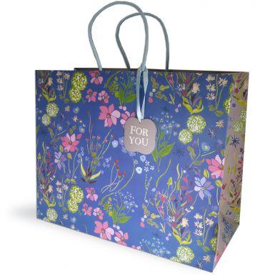 Gift Bag Carrier Julie Dodsworth Forget Me Not