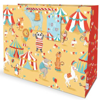 Gift Bag Carrier Carnival Circus
