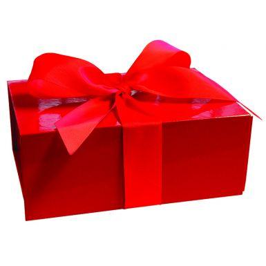 Scarlet Red Medium Folding Box