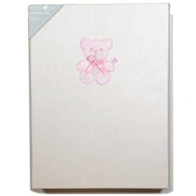Teddy Pink (Large) Keepsake Box