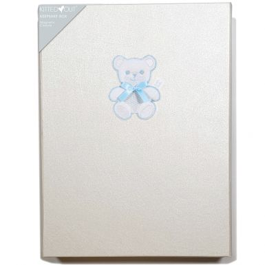 Teddy Blue (Large) Keepsake Box