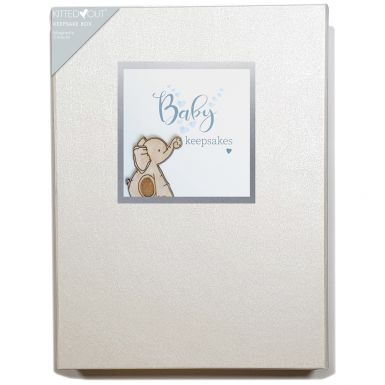 Tracey Russell Baby Blue (Large) Keepsake Box