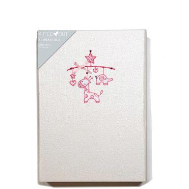 Baby Mobile Girl (Medium) Keepsake Box