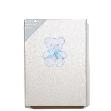 Teddy Blue (Medium) Keepsake Box
