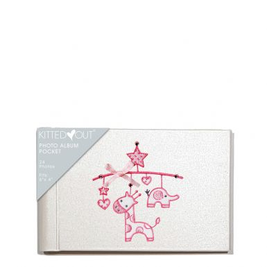 Baby Mobile Girl (Pocket) Photo Album