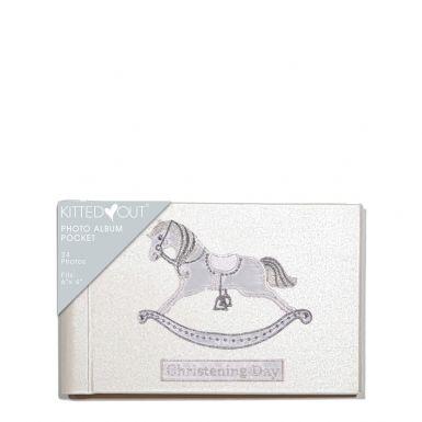 Christening Day Horse (Pocket) Photo Album