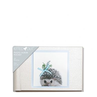Animal Portraits Hedgehog (Pocket) Photo Album
