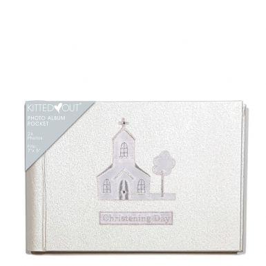 Christening Day Church  (XL Pocket) Photo Album