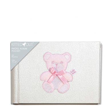 Teddy Pink (XL Pocket) Photo Album