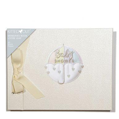 Baby Shower (Loose Leaf) Memories Book