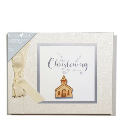 Tracey Russell Christening (Loose Leaf) Memories Book