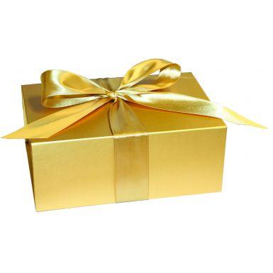 Metallic Gold Medium Folding Box